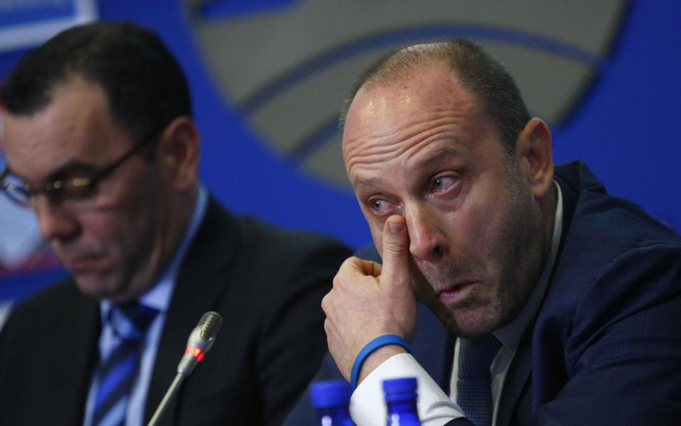 Тити през сълзи: По-смислено нещо в българския спорт не е правено