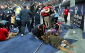 Повече от 30 души пострадаха сериозно по време на финала за Гълф къп<strong> източник: БГНЕС</strong>