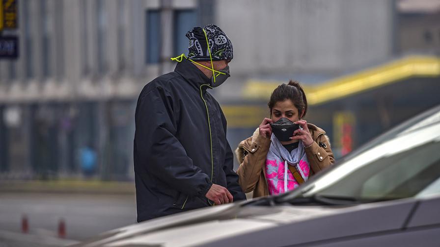 България потъна в опасен смог, рекордно мръсен въздух