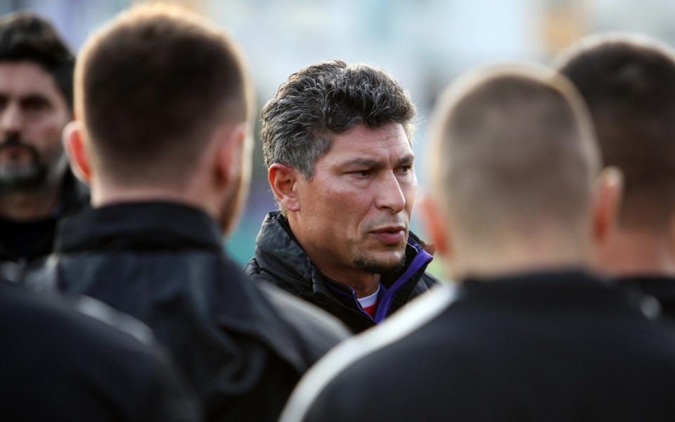 Балъков: Нека хората не забравят, че има мач на стадион