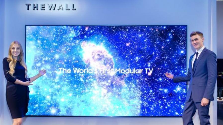 Модулният телевизор The Wall на Samsung