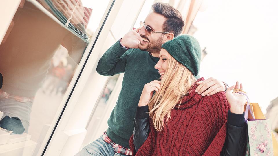 двойка пазаруване