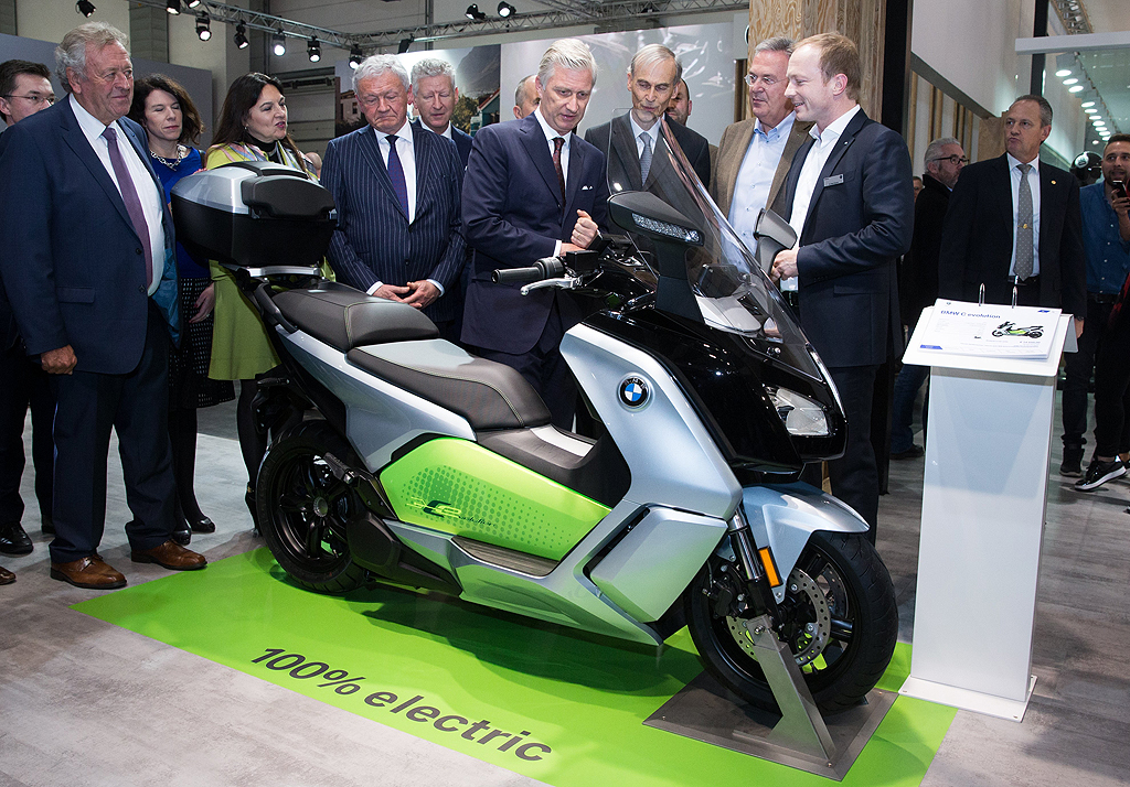 BMW Electric Scooter C evolution