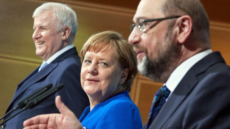Пробив - Меркел ще прави кабинет, лимит за бежанците