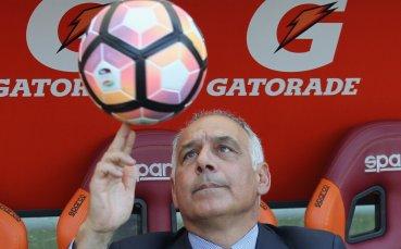 Палота отказал последната оферта за Рома, остава начело