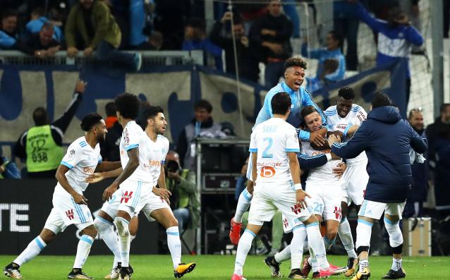 Олимпик Марсилия победи с 3:0 като гост Рен в среща