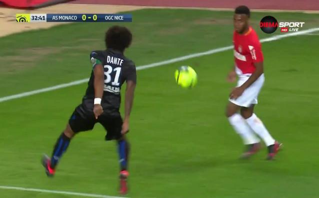 Монако - Ница 1:0 /първо полувреме/