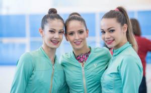 Първото за годината контролно на гимнастичките в красиви кадри