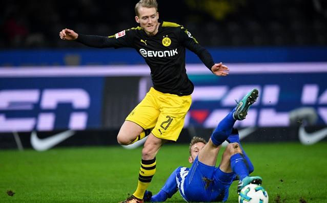 Футболистът на Борусия Дортмунд Андре Шюрле съжали за равенството на
