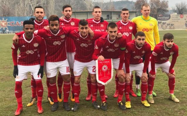 ЦСКА победи третодивизионния Вихрен Сандански в първатаси контрола за 2018