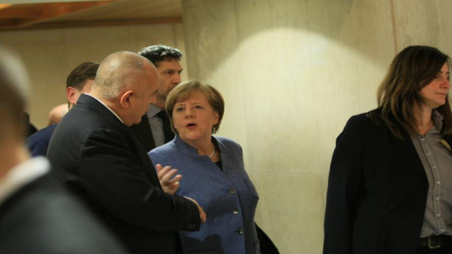 бойко борисов и ангела меркел