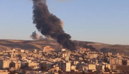 Турската армия прочиства Африн от кюрдските бойци