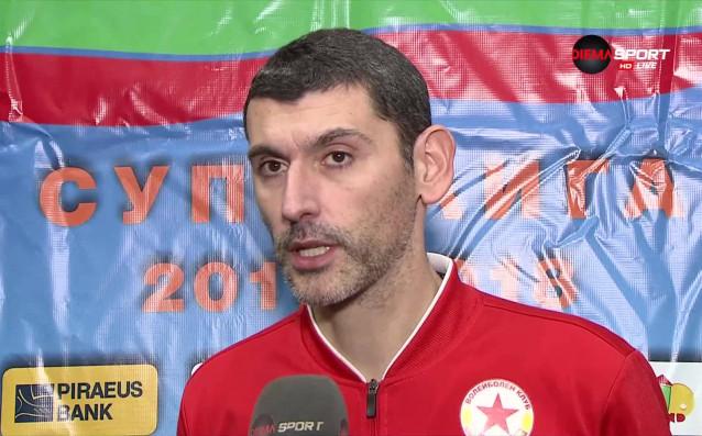 ЦСКА излезе на второ място в мъжката волейболна Суперлига, след
