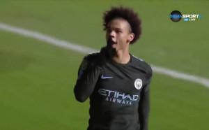 Бристъл Сити - Манчестър Сити 0:1 /първо полувреме/