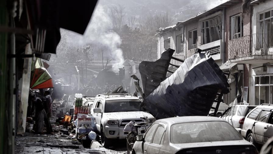 Десетки загинаха при атентат в Кабул