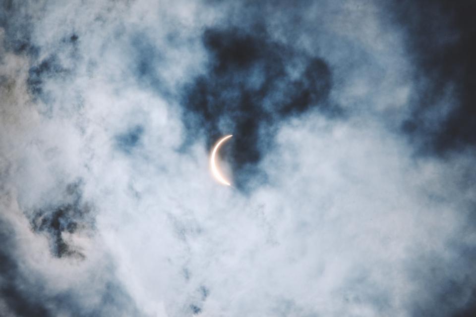 затъмнение луна