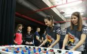 Отборно състезание по футбол на маса<strong> източник: Jagoars</strong>