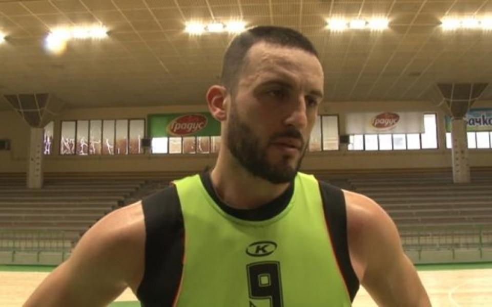 Филип Виденов в Берое: Сигурен съм, че ще сме по-добри от досега
