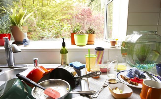 Кухнята е пълна с непредвидени опасности