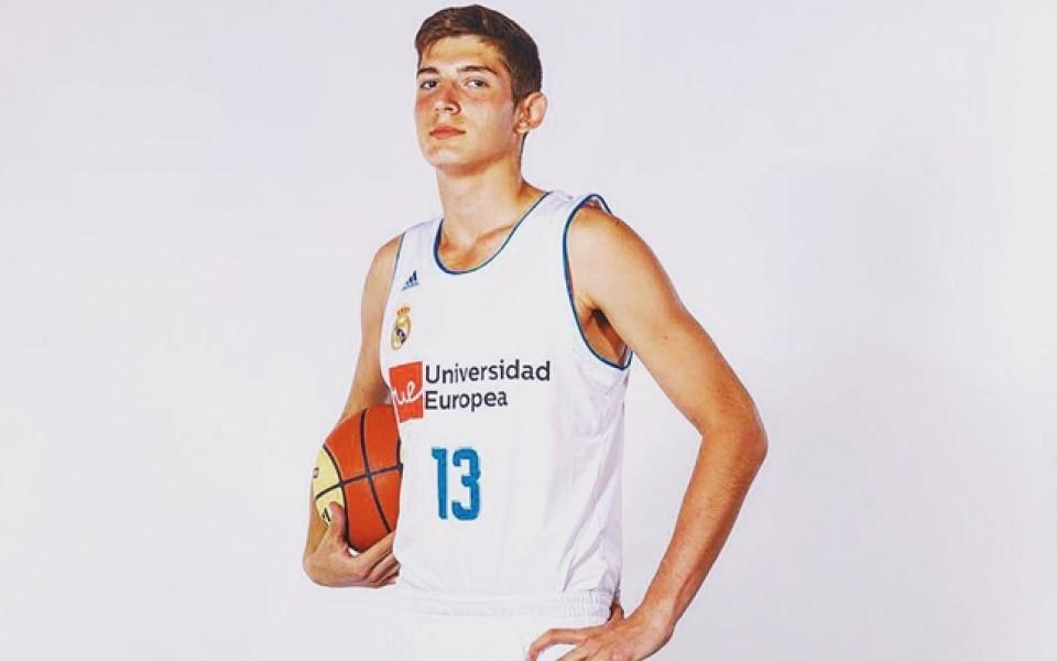 Българин стана шампион по баскетбол с Реал Мадрид