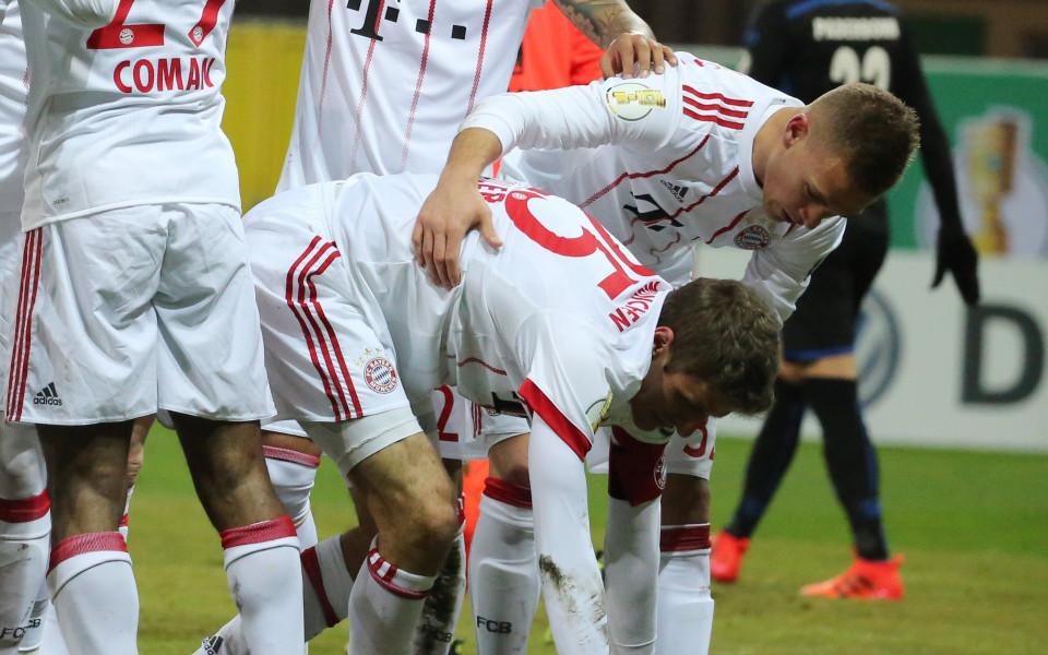 Байерн Мюнхен с лекота стигна 1/2-финал за Купата