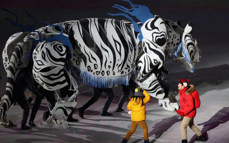 23-ите Зимни олимпйски игри са открити!