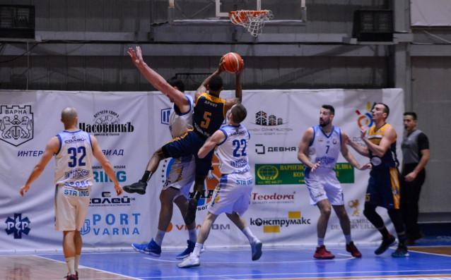 Ямбол постигна пета победа в Националната баскетболна лига след труден