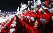 Севернокорейските мажоретки<strong> източник: Gulliver/GettyImages</strong>