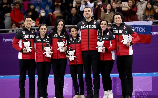 Канада с титлата в отборната надпревара по фигурно пързаляне източник: Gulliver/GettyImages
