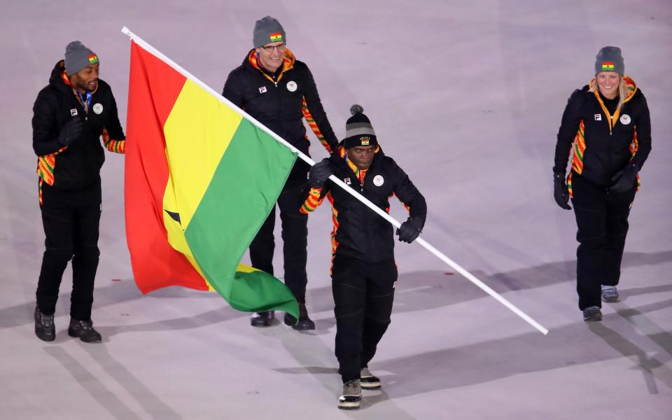 Ганаецът се цели в първи медал за Африка от зимна Олимпиада