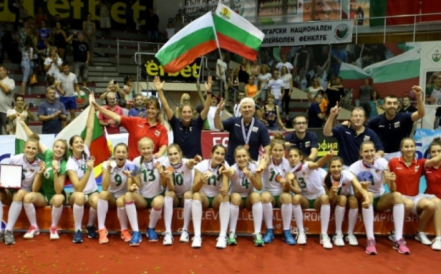 България завоюва бронзови отличия на Европейското първенство 2017 за девойки под 16 години източник: www.volleyball.bg
