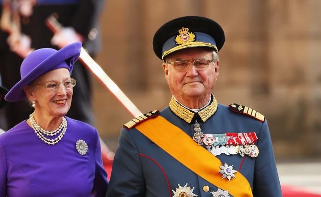 Почина принц Хенрик - голямата любов на датската кралица Маргрете II