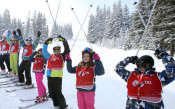 """""""Научи се да караш ски"""" стигна до 30 000 деца"""