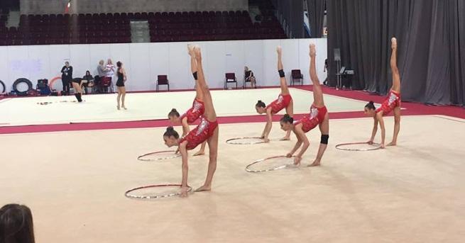 Българският национален ансамбъл по художествена гимнастика спечели златен медал на