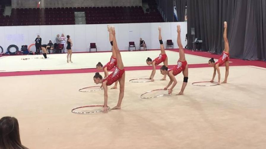 Злато за гимнастичките ни на Гран при в Москва
