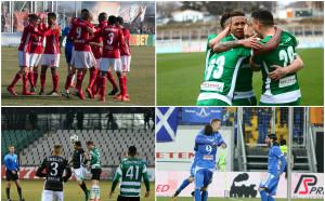 Първа лига се завърна ударно: луди сблъсъци и много голове