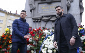 Играчите на Левски почетоха паметта на Апостола