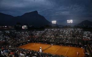 Тенис карнавал в Рио де Жанейро!