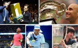 Топ 5 на най-възрастните №1 в историята на тениса