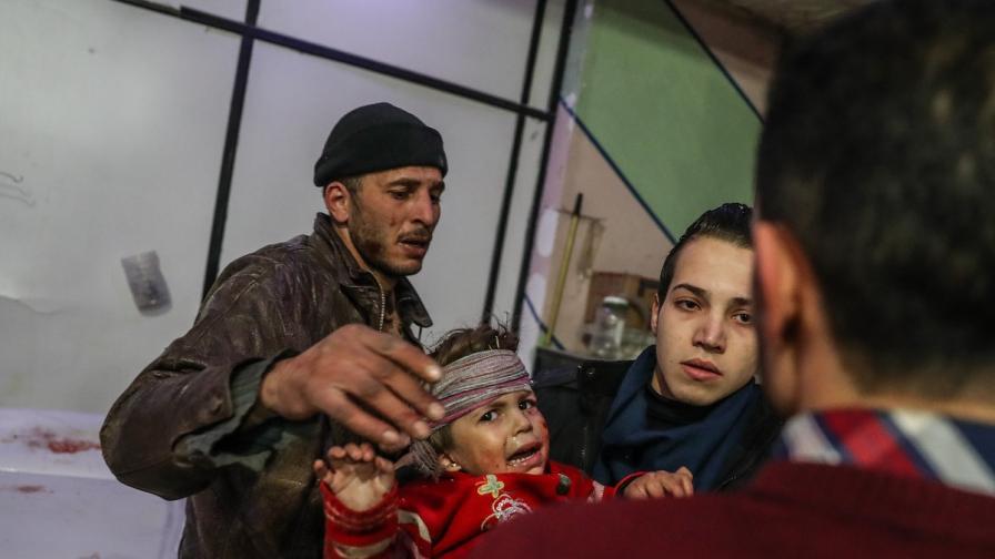 94 убити близо до Дамаск, ООН иска спешни мерки