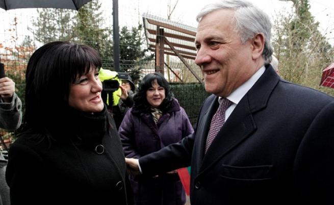 Антонио Таяни ни подкрепя за Шенген