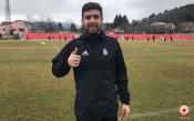 Халф на ЦСКА поднови тренировки след месец възстановяване