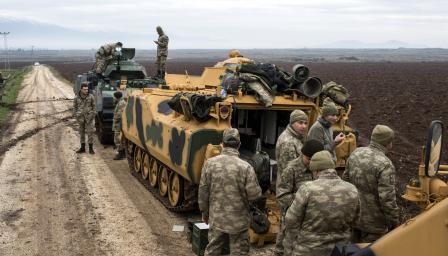 Силите на Асад започнаха да влизат в Африн