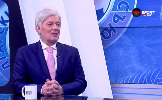 Новият член на Изпълкома към Българския футболен съюз Валентин Михов