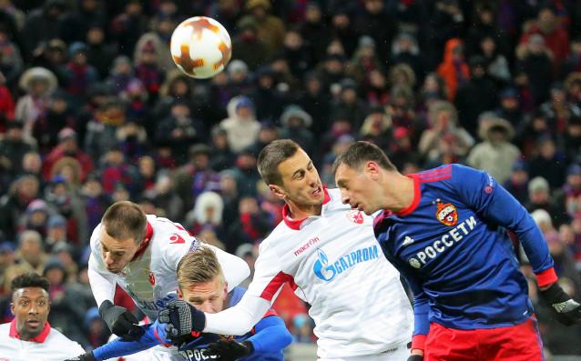 ЦСКА Москва с Георги Миланов се класира за 1/8-финалите в