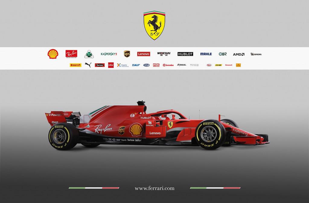 Новият болид на Ферари<strong> източник: Gulliver/GettyImages</strong>