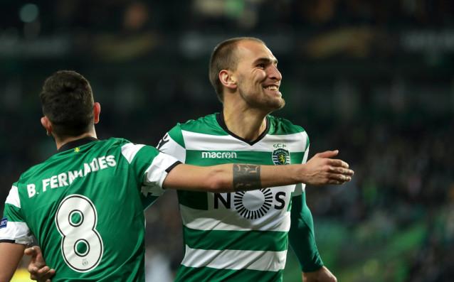 Спортинг Лисабон успя да се класира за осминафиналите в Лига
