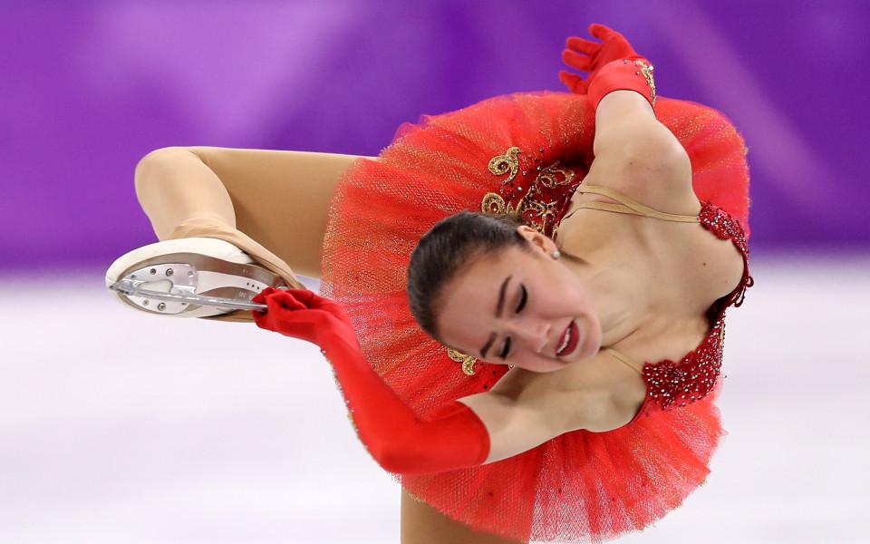 Олимпийската шампионка по фигурно пързаляне от Пьончан 2018 Алина Загитова