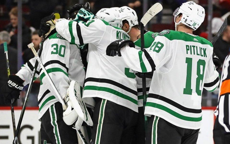 Далас надви Лос Анджелис в битката за плейофите на Запад в НХЛ
