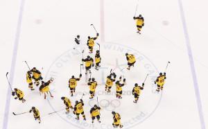 Дортмунд поздрави германските хокеисти за историческия успех